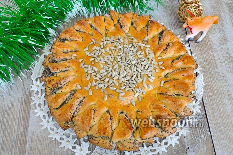 Рецепт Пирог-подсолнух