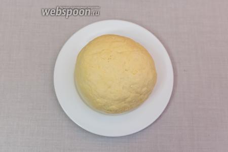 Замесим мягкое тесто.