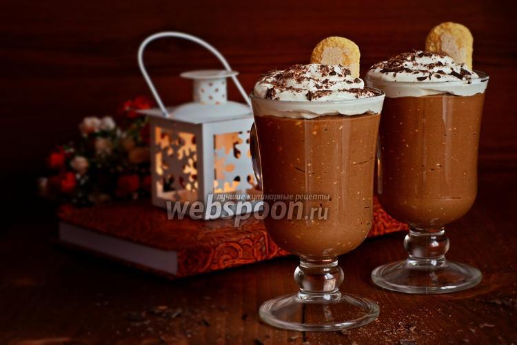 Рецепт Кофейно-шоколадный мусс