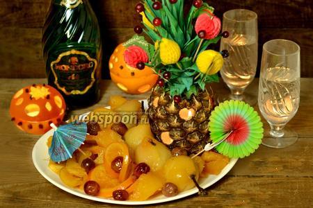Фруктовый десерт «Новый год наоборот»