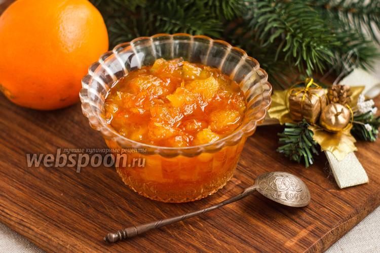 Рецепт Апельсиновый джем с цедрой