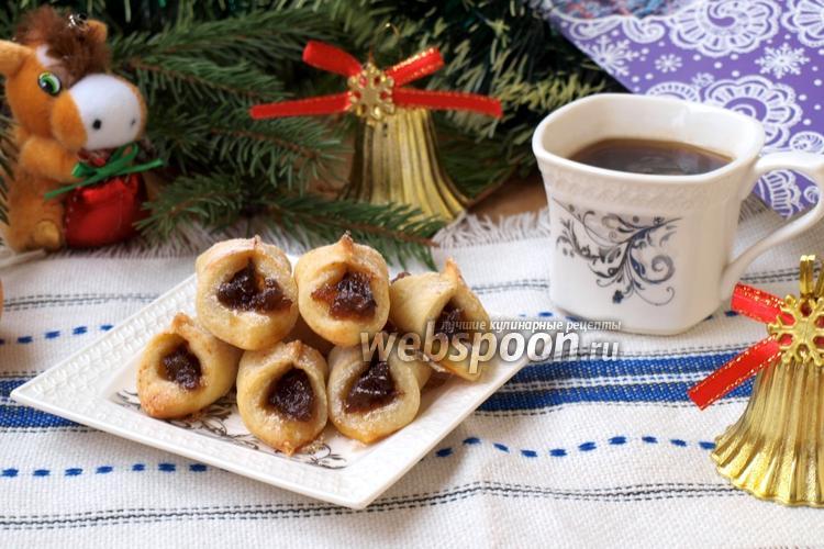 Рецепт Польское печенье Kolaczki