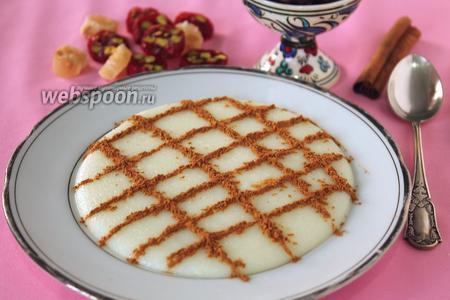 Фирни — молочный десерт из рисовой муки