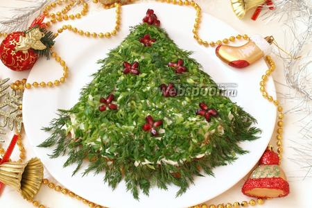 Салат новогодний «Ёлка»