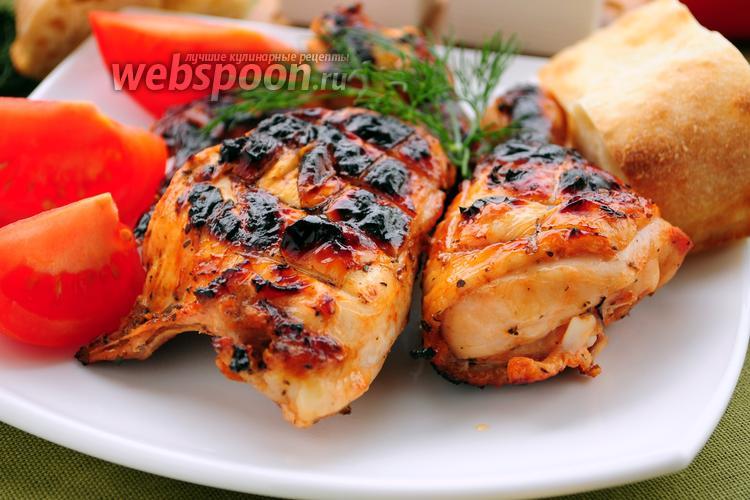 Рецепт Куриный шашлык в кисло-сладком томатном соусе с травами