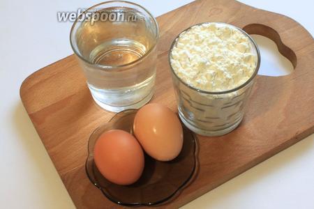 Для приготовления классического рецепта теста фило нам понадобятся вода, растительное масло, соль, яйца, уксус 9%, мука.