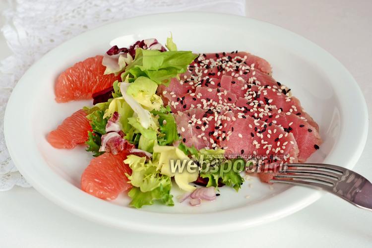 салат с тунцом диетический рецепт на ужин