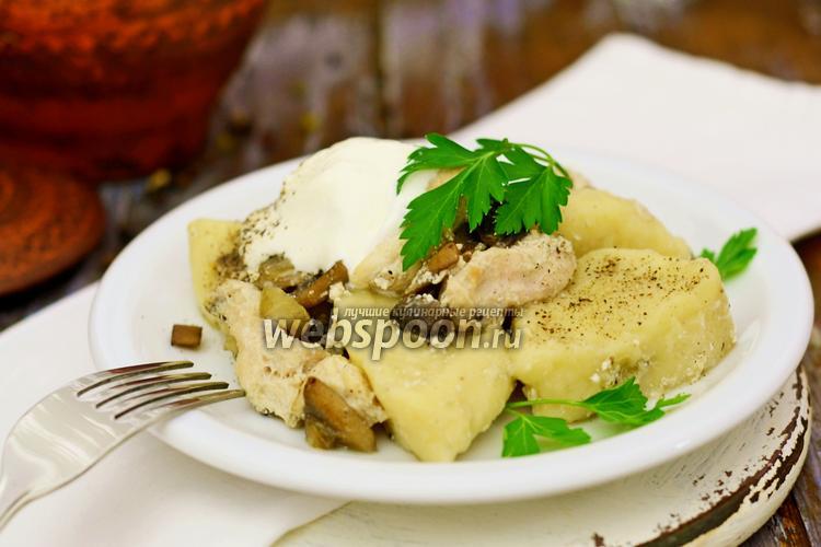Рецепт Полтавские галушки в горшочках