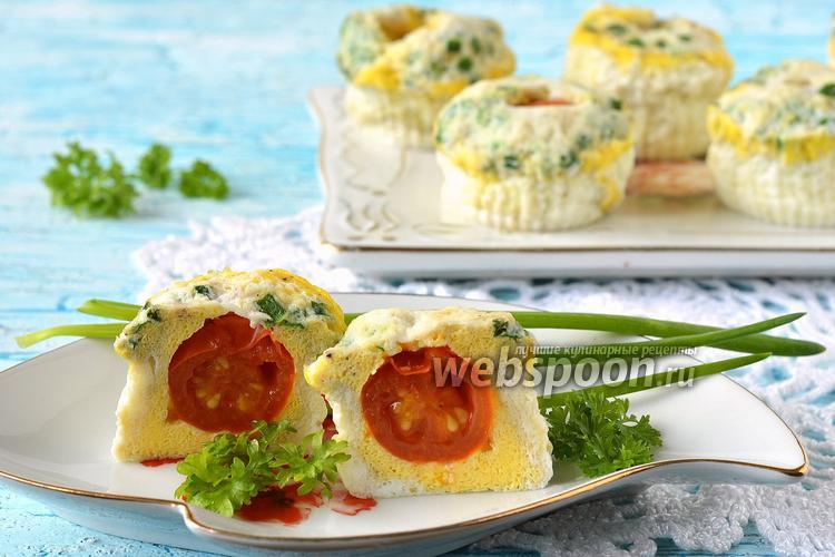 Рецепт Паровые яичные кексы в мультиварке