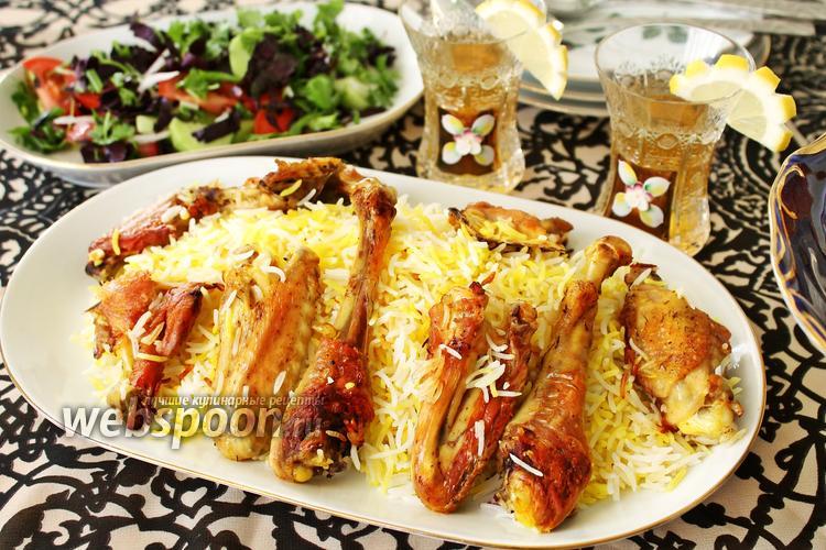 Рецепт Плов с курицей по-азербайджански