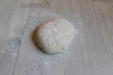 Замесим тесто.
