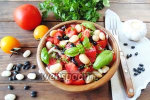 Салат с нутом и баклажанами рекомендации