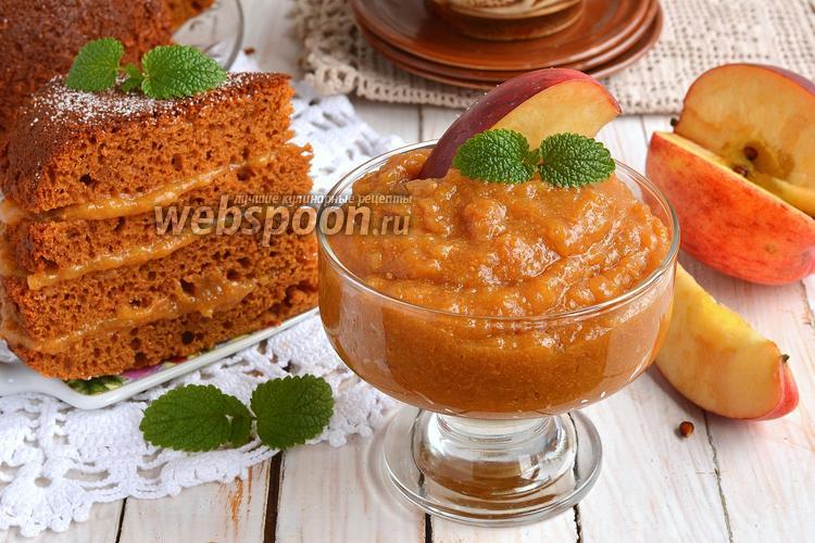 Рецепт Карамельно-яблочный крем