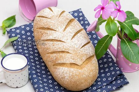 Деревенский ржаной хлеб на солоде