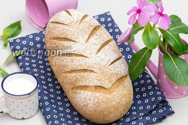 Рецепт Деревенский ржаной хлеб на солоде