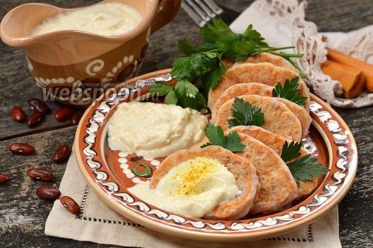 Рецепт Дрожжевые оладьи из фасоли