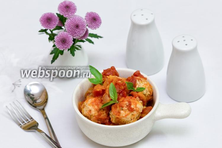 Рецепт Куриные тефтели с тыквой и пармезаном