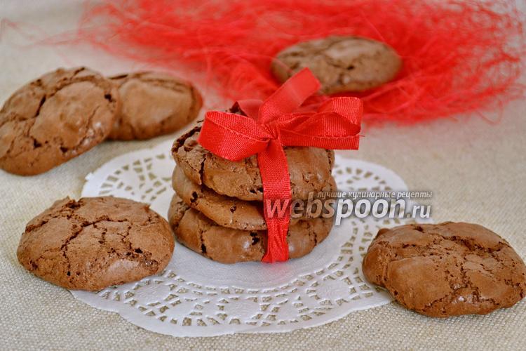 Фото Нежное шоколадное печенье