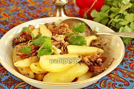 Жаркое из баранины с тимьяном