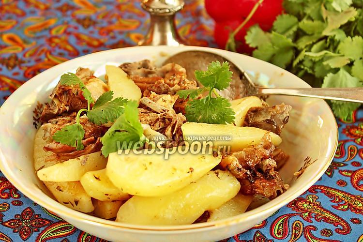 Рецепт Жаркое из баранины с тимьяном