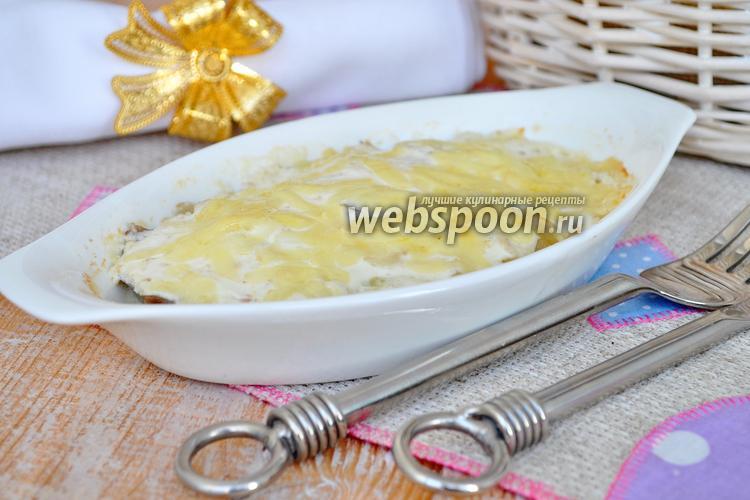Рецепт Язык запечённый в сметане с хреном