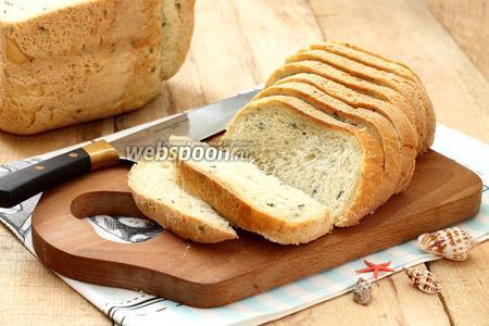 Хлеб с морскими водорослями в хлебопечке
