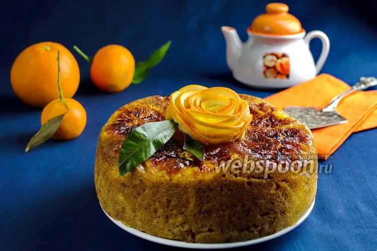 Рецепт Кекс с карамельными апельсинами в мультиварке