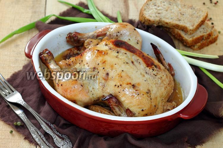 Рецепт Запечённая курица Бомбей