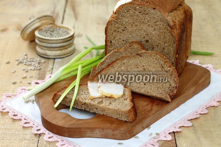 Рецепт Хлеб пшенично-ржаной в хлебопечке