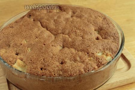 Выпекаем кекс при температуре 180°С 35-40 минут. Готовность проверяем на сухую спичку. В оригинальном рецепте надо посыпать готовый кекс пудрой, но мне кекс показался достаточно сладким и я не посыпала.