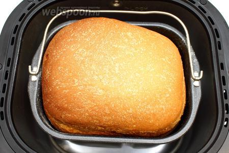 Наш сметанный хлеб готов.