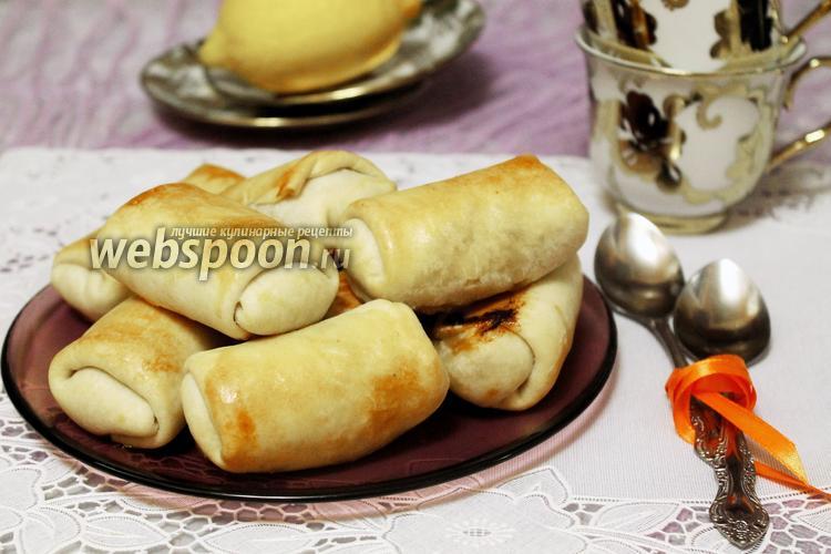 Фото Пирожки-пелёнки с капустой