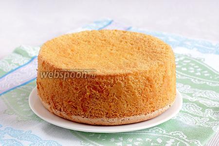 Из этого бисквита получится прекрасный торт.