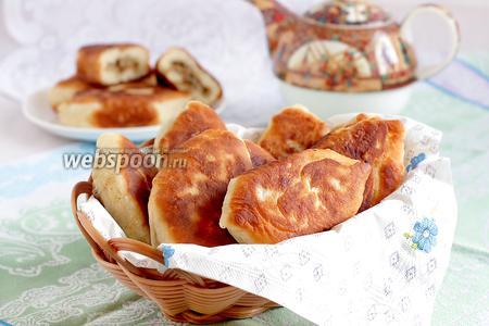 Пирожки на кефире жареные