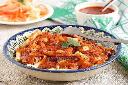 Пенне в томатном соусе