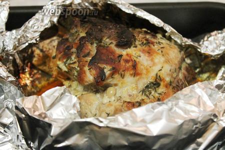 Когда румяность вас устроит — мясо готово.