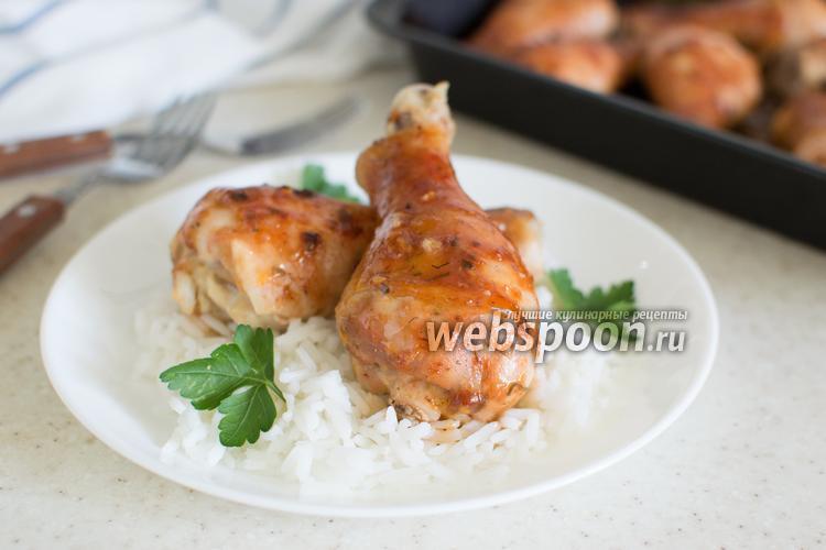 Фото Куриные голени в глазури