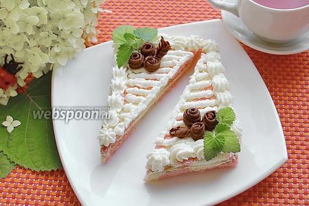 Бисквитное пирожное «Нежность»