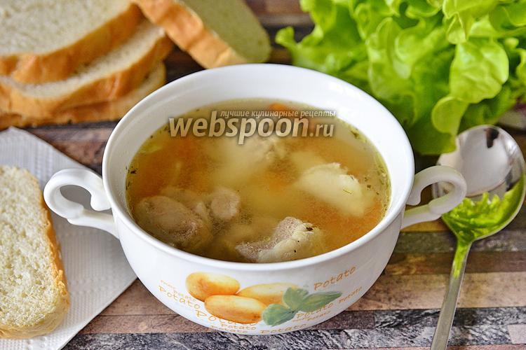 Рецепт Бульон свиной с мятой и укропом