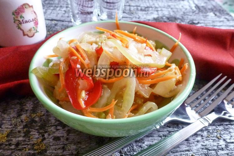 Рецепт Зелёные помидоры по-корейски