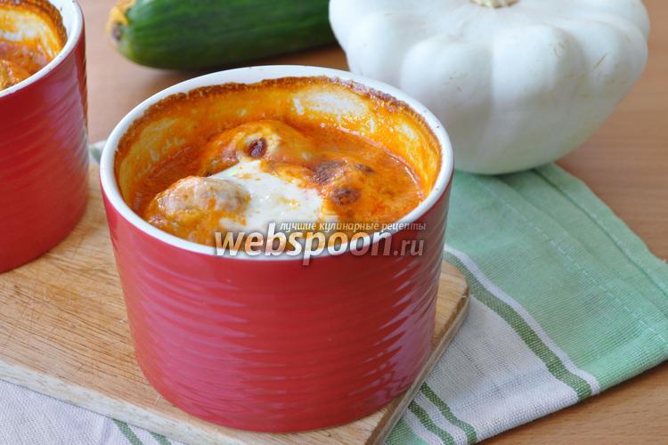 Рецепт Фрикадельки из кеты в овощном соусе