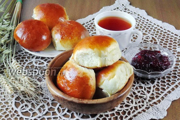 Рецепт Сдобные булочки с конфитюром из слив