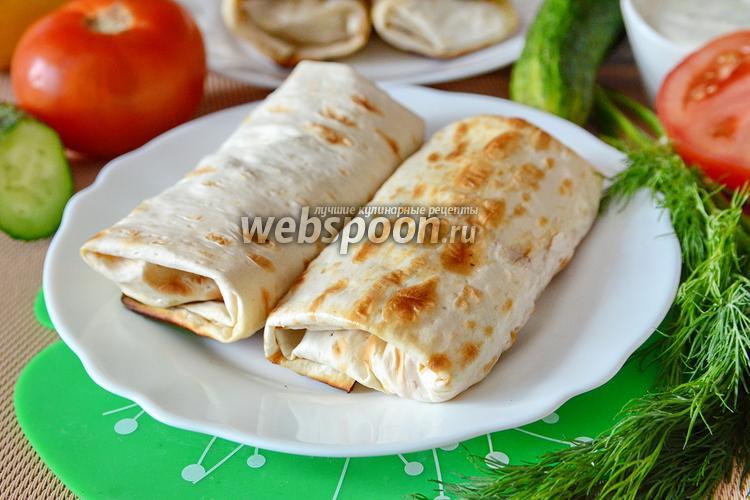 Рецепт Шаурма с колбасой