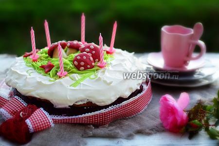 Ягодный торт «Заколдованный лес»