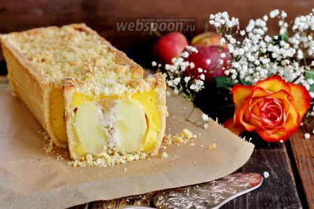 Пирог с целыми яблоками