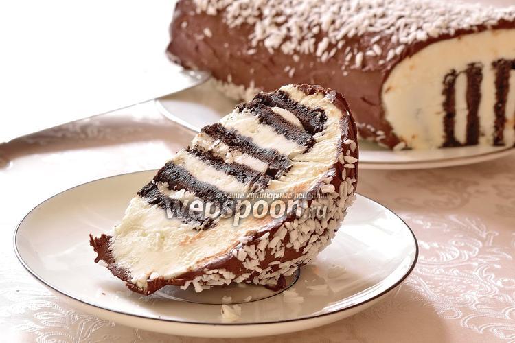 Рецепт Торт из шоколадного печенья