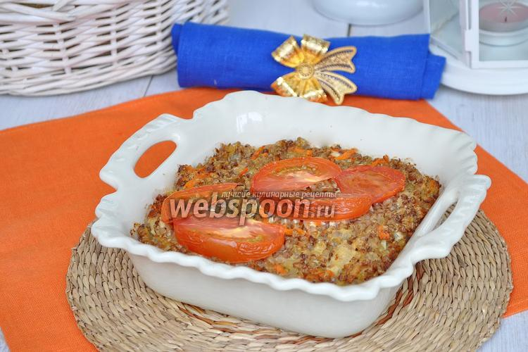 Фото Запеканка из гречки с курицей