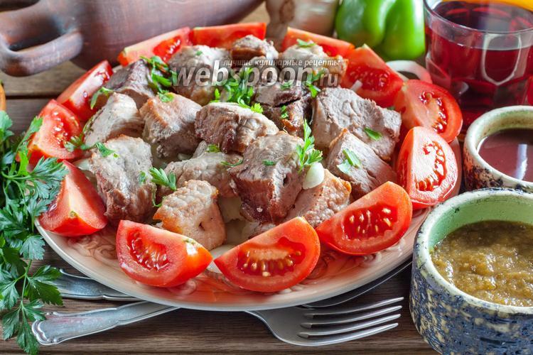 Рецепт Грузинский шашлык