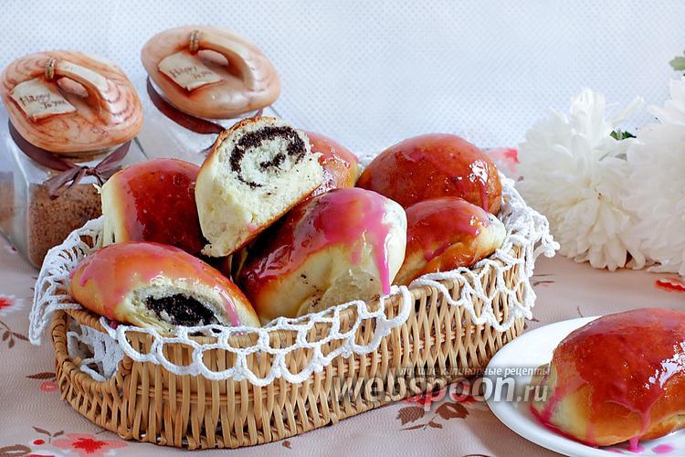 Рецепт Пирожки с маком в глазури