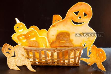 Закуска на Хэллоуин — чипсы из тортильи «Привидения»